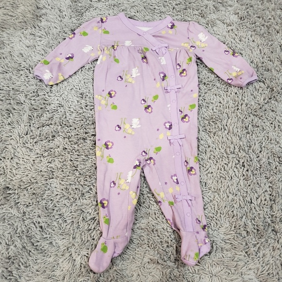 Gymboree Other - Gymboree Purple Footed PJs